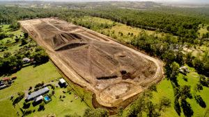 Land Development Construction Site