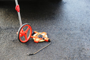 Measuring Wheel And Tape